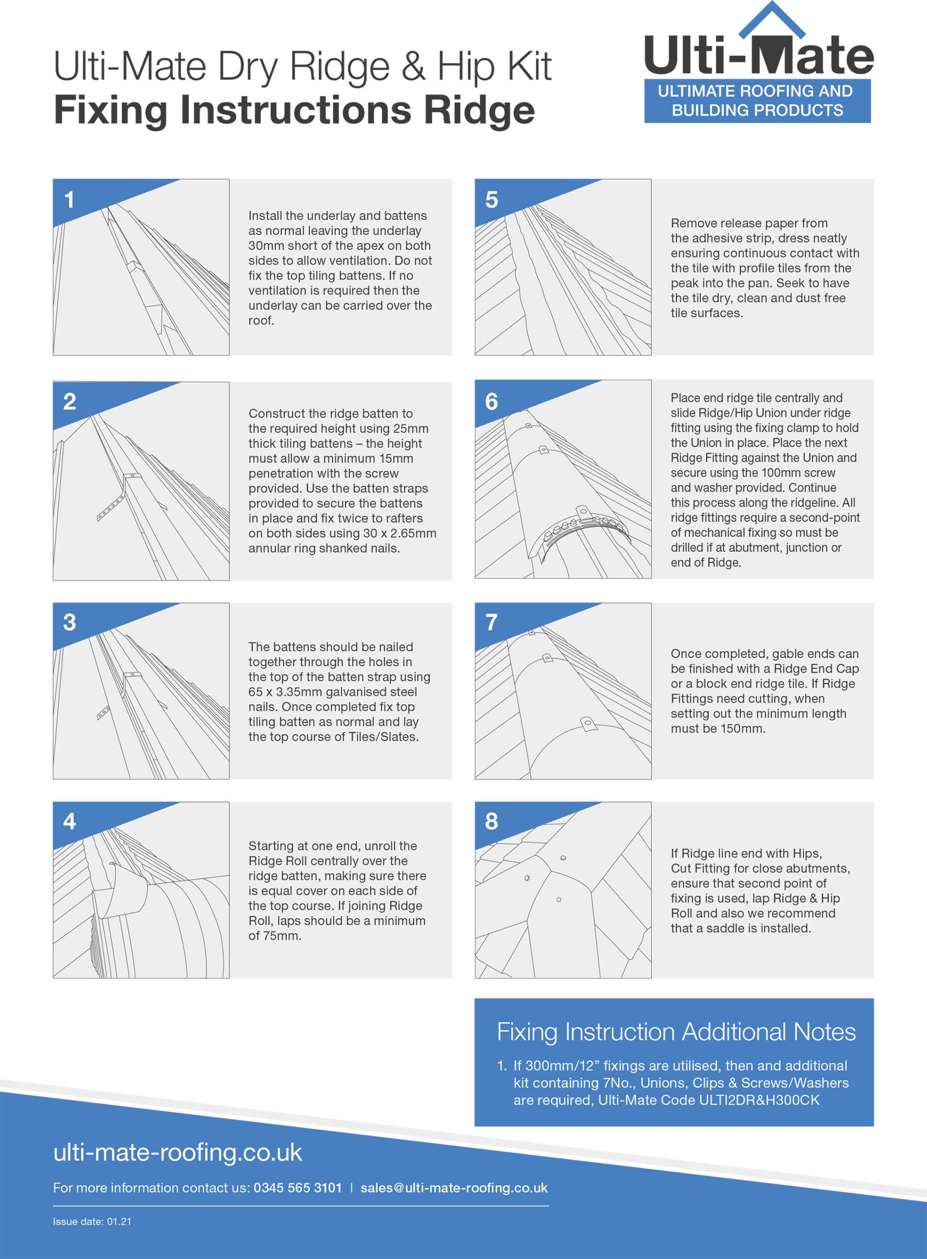 fixing-instructions-ridge